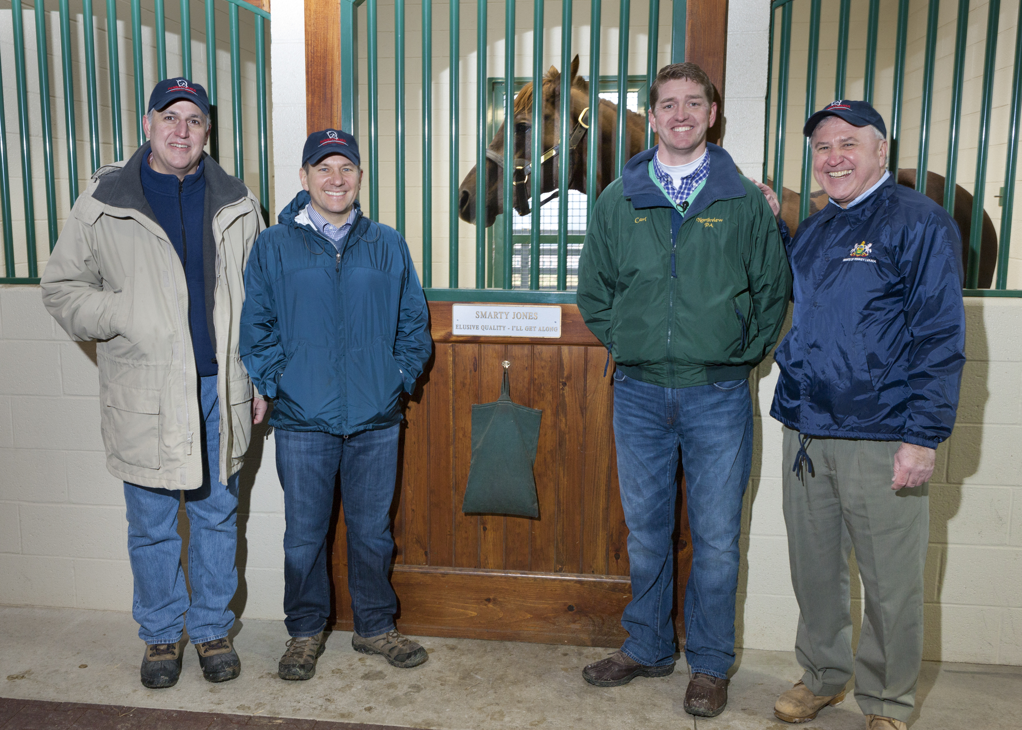 Senators Rafferty, Pileggi and Smucker Tour Northview Stallion Station PA